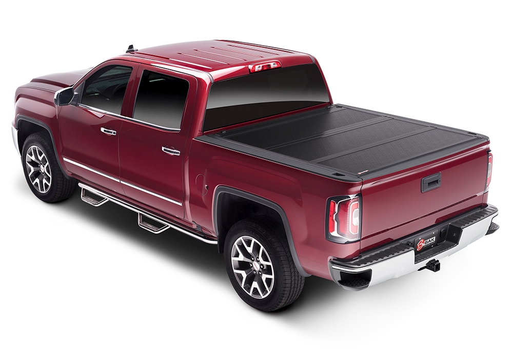 BAK Flip FiberMax Hard Folding Truck Bed Cover - BAK 1126203RB