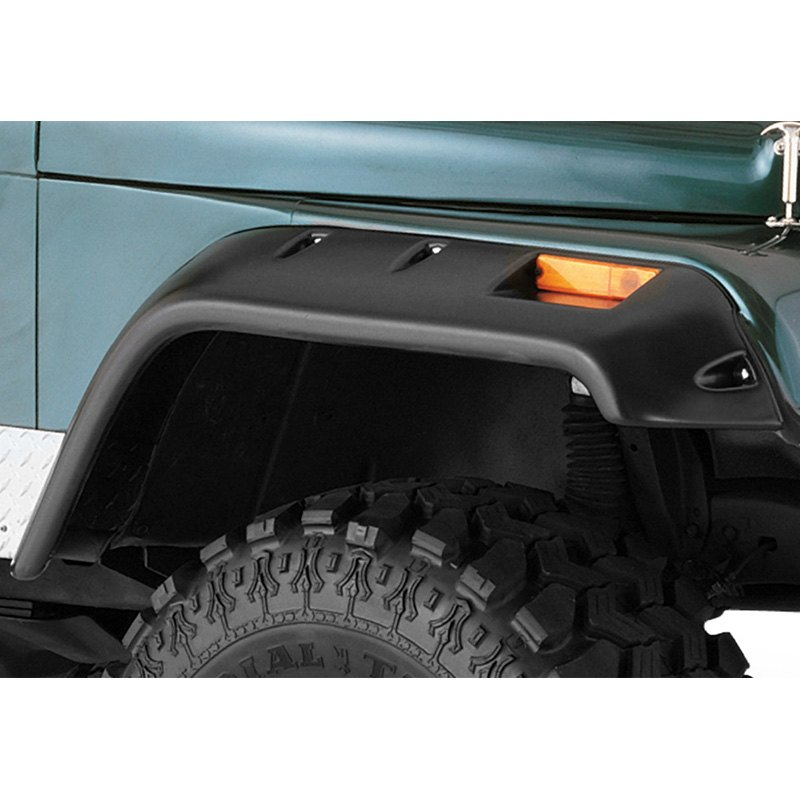 Bushwacker Cut-Out Front Fender Flares - Bushwacker 10059-07