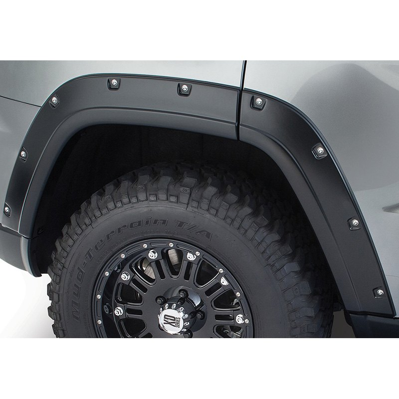 Bushwacker Pocket Style Rear Fender Flares - Bushwacker 10076-02