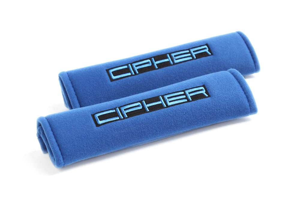 "Cipher Auto Blue 2"" Inches Harness Pads - Cipher Auto CPA8000RHP-BU"