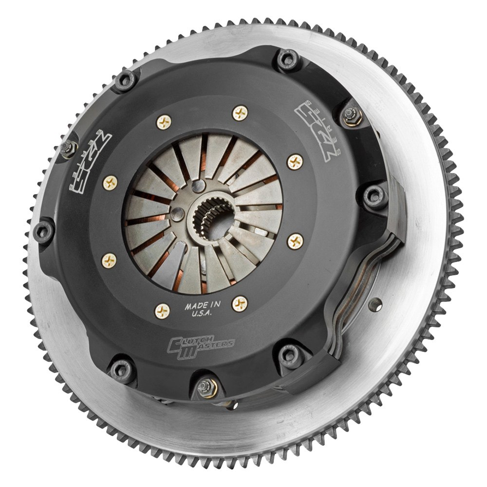 Clutch Masters 725 Twin Disc Clutch Kit & Flywheel - Clutch Masters 02029-TD7S-S