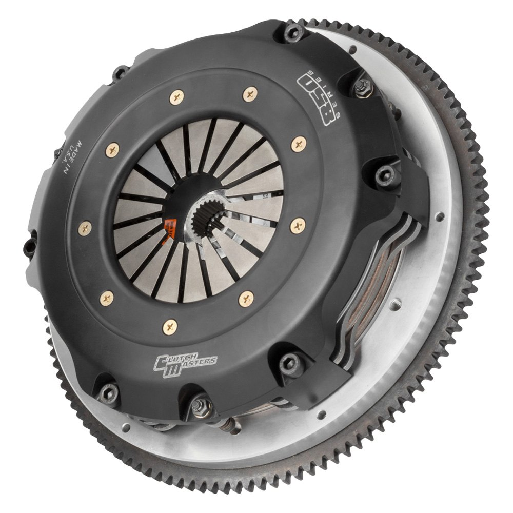 Clutch Masters 850 Twin Disc Clutch Kit & Flywheel - Clutch Masters 05106-TD8R-SHV