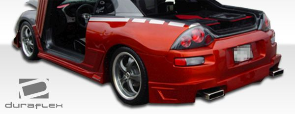 Duraflex Blits Side Skirts Rocker Panels - 2 Piece - Duraflex 100120