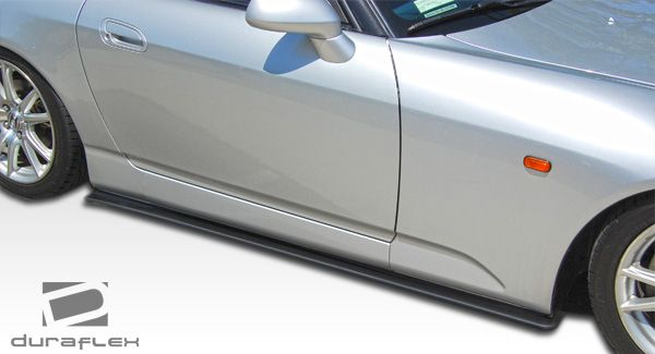 Duraflex A-Sport Side Skirt Splitters - 2 Piece - Duraflex 105919