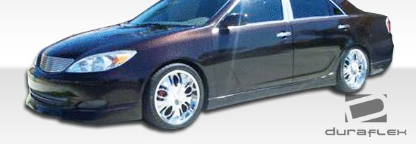 Duraflex Vortex Side Skirts Rocker Panels - 2 Piece - Duraflex 104217