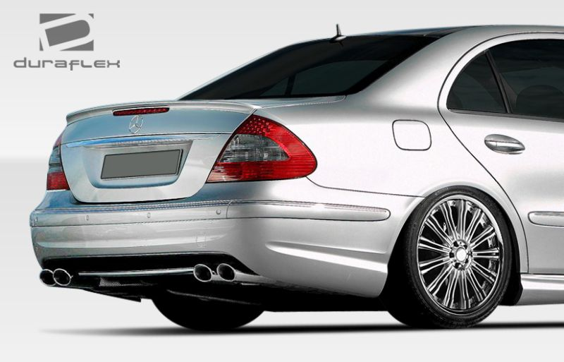 Duraflex E63 Look Rear Bumper Cover - 1 Piece - Duraflex 107806