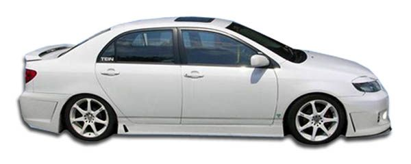 Duraflex B-2 Side Skirts Rocker Panels - 2 Piece - Duraflex 100534