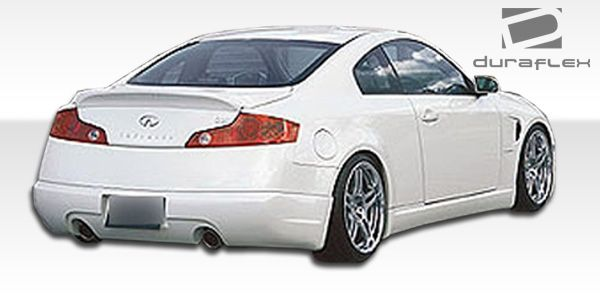 Duraflex I-Spec Rear Lip Under Spoiler Air Dam - 1 Piece - Duraflex 100462