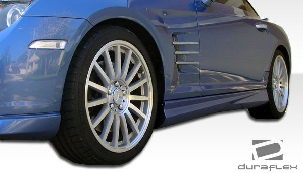 Duraflex AMG Look Side Skirts Rocker Panels - 2 Piece - Duraflex 104966