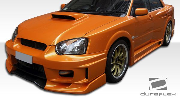 Duraflex C-GT Wide Body Side Skirts Rocker Panels - 2 Piece - Duraflex 105432