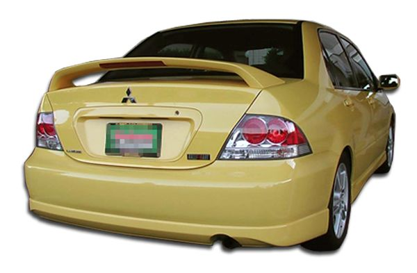 Duraflex Rally Rear Lip Under Spoiler Air Dam - 1 Piece - Duraflex 100572