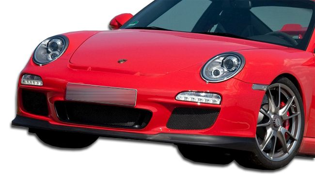 Duraflex GT3-V2 Look Front Lip Under Spoiler Air Dam - 1 Piece - Duraflex 107240