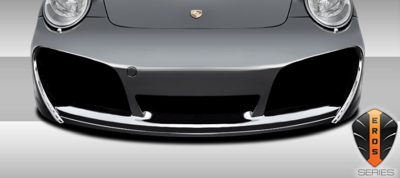 Duraflex Eros Version 1 Front Lip Under Spoiler Air Dam - 1 Piece - Duraflex 107836