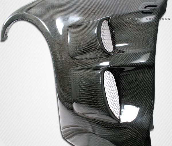 Carbon Creations ZR Edition Front Fenders - 2 Piece - Carbon Creations 105774