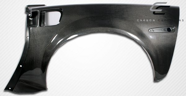 Carbon Creations ZR Edition Rear Fenders - 2 Piece - Carbon Creations 105776