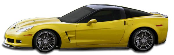Duraflex ZR Edition Side Skirts Rocker Panels - 2 Piece - Duraflex 105769