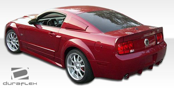 Duraflex GT500 Wide Body Side Skirts Rocker Panels - 2 Piece - Duraflex 104912