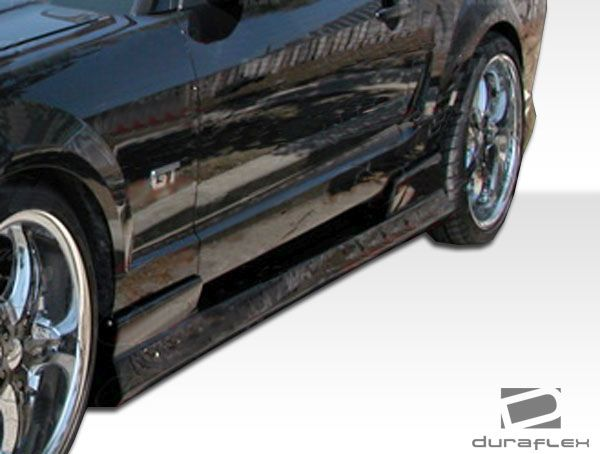 Duraflex Stallion Side Skirts Rocker Panels - 2 Piece - Duraflex 104297