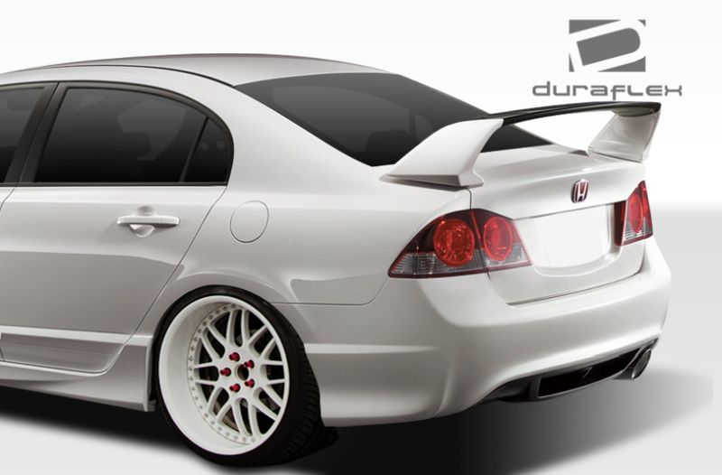 Duraflex Type R Rear End Conversion Kit - 3 Piece - Duraflex 108071