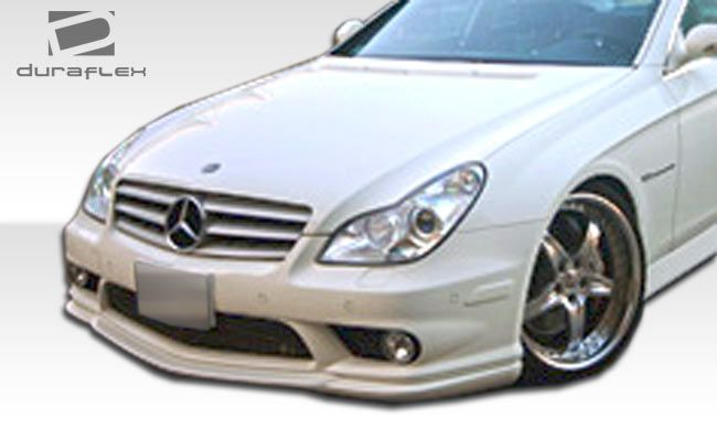 Duraflex CR-S Front Under Spoiler Air Dam Lip Splitter - 1 Piece (will only fit AMG sport models) - Duraflex 107151