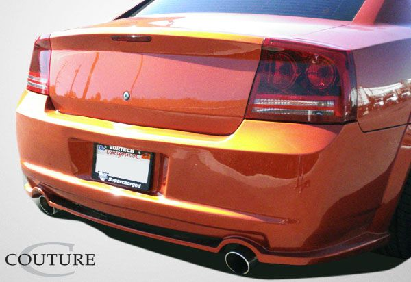 Couture Luxe Wide Body Rear Bumper Cover - 1 Piece - Couture 104814