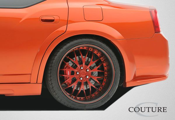 Couture Luxe Wide Body Rear Fender Flares - 2 Piece - Couture 104816