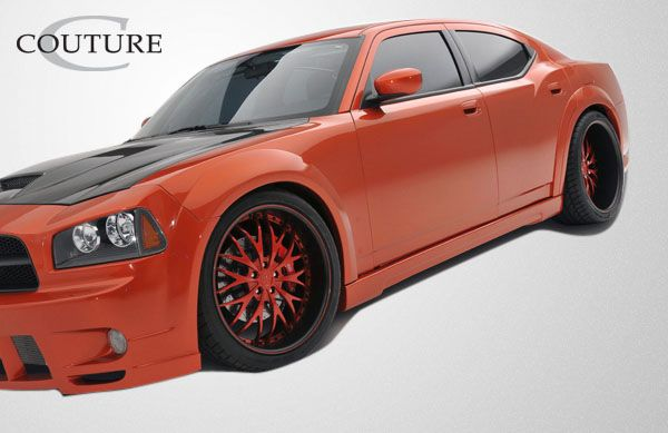 Couture Luxe Wide Body Side Skirts Rocker Panels - 2 Piece - Couture 104813