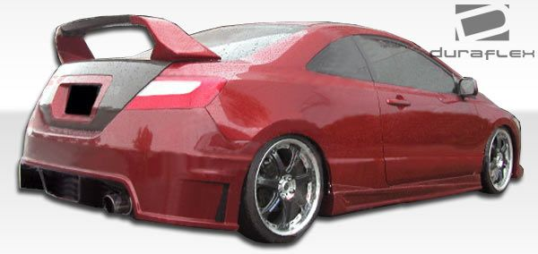 Duraflex Sigma Side Skirts Rocker Panels - 2 Piece - Duraflex 104695