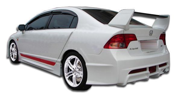 Duraflex R-Spec Rear Bumper Cover - 1 Piece - Duraflex 104429