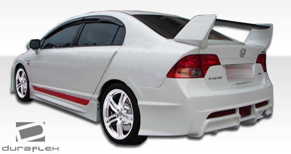 Duraflex R-Spec Body Kit - 5 Piece - Duraflex 104539