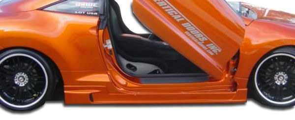 Duraflex Demon Side Skirts Rocker Panels - 2 Piece - Duraflex 105250