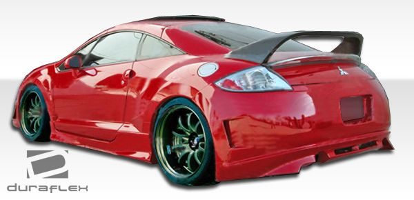 Duraflex XGT Side Skirts Rocker Panels - 2 Piece - Duraflex 104355