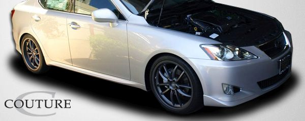 Couture J-Spec Front Lip Under Spoiler Air Dam - 1 Piece - Couture 106940