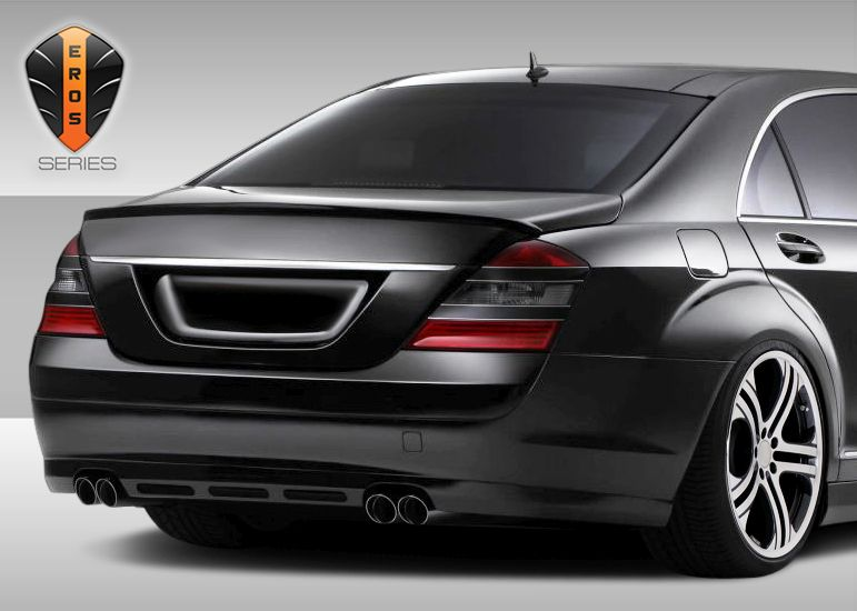 Duraflex Eros Version 1 Rear Lip Under Spoiler Air Dam (euro base model) - 1 Piece - Duraflex 107791