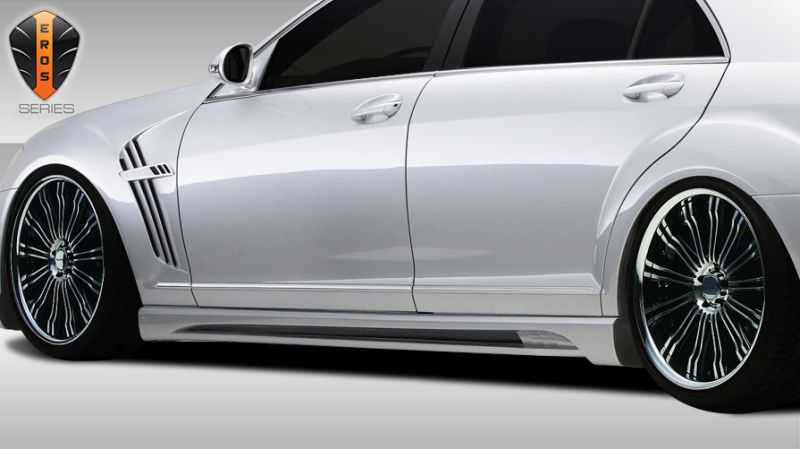 Duraflex Eros Version 2 Side Skirts Rocker Panels - 2 Piece - Duraflex 107793