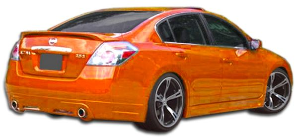 Duraflex Racer Rear Lip Under Spoiler Air Dam - 1 Piece - Duraflex 106060