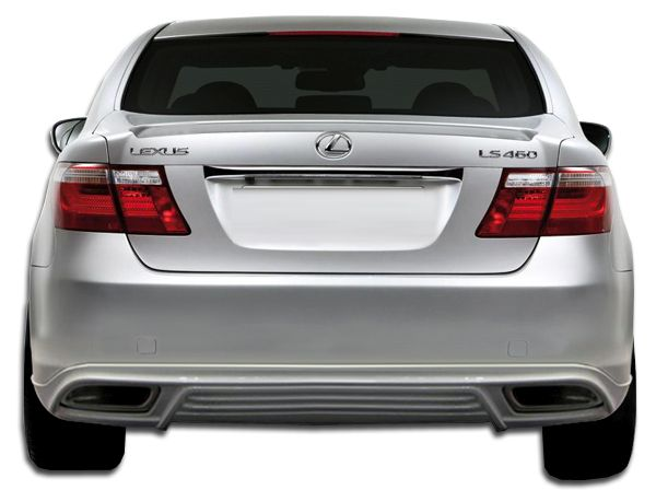Duraflex W-1 Rear Lip Under Spoiler Air Dam - 1 Piece - Duraflex 105673