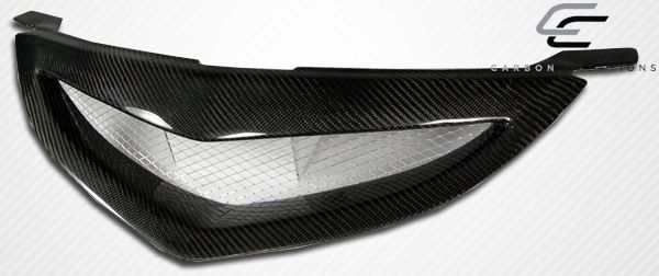 Carbon Creations Open Mouth Grille - 1 Piece - Carbon Creations 105030