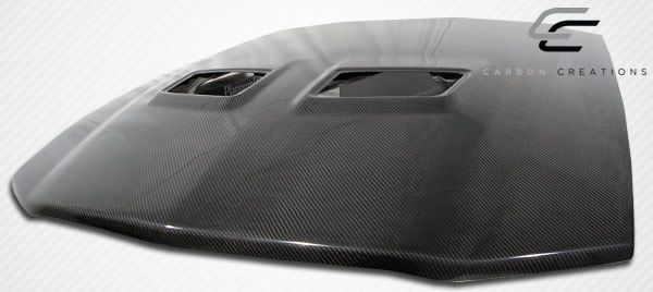 Carbon Creations OEM Hood - 1 Piece - Carbon Creations 104999