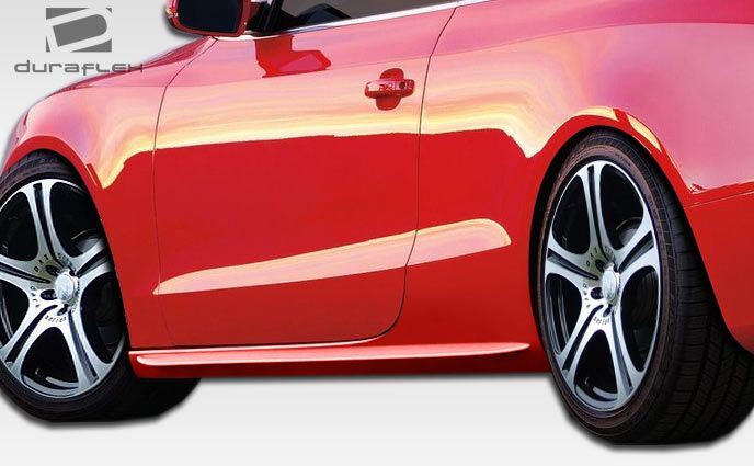 Duraflex S5 Look Side Skirts Rocker Panels - 2 Piece - Duraflex 107522