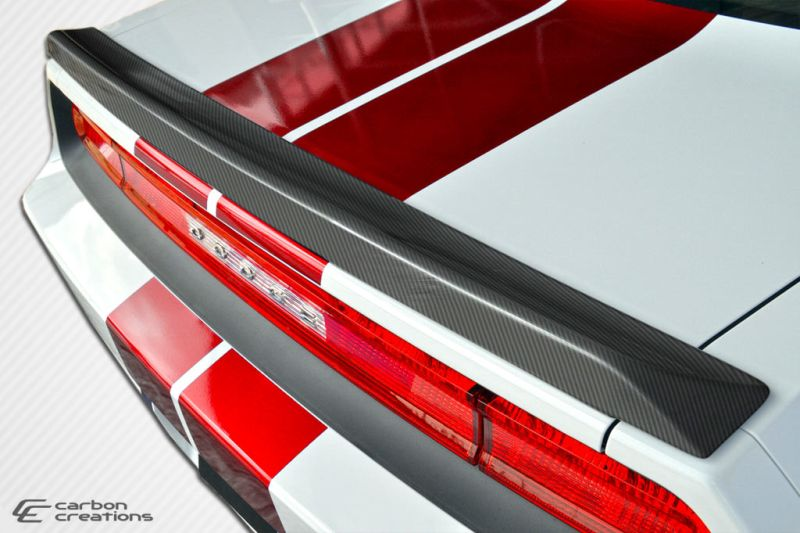 Carbon Creations SRT Look Wing Trunk Lid Spoiler - 1 Piece - Carbon Creations 105787