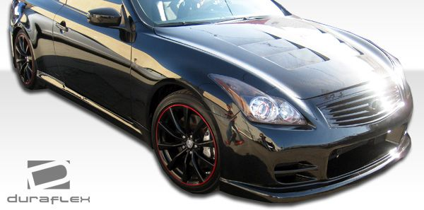 Duraflex GT Concept Side Skirts Rocker Panels - 2 Piece - Duraflex 104676