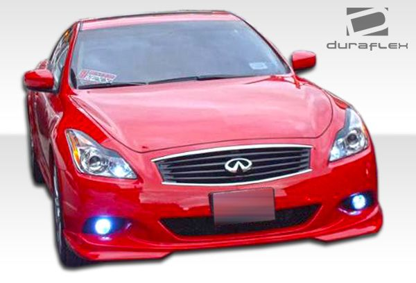 Duraflex J-Spec Front Lip Under Spoiler Air Dam (sport model) - 1 Piece - Duraflex 106122