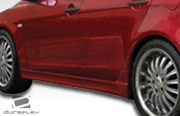 Duraflex C-1 Side Skirts Rocker Panels - 2 Piece - Duraflex 106418