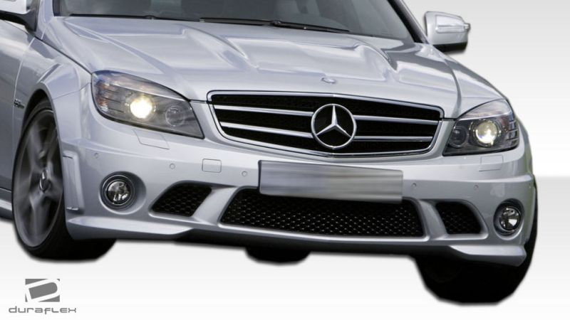 Duraflex C63 Look Body Kit - 5 Piece - Duraflex 107305