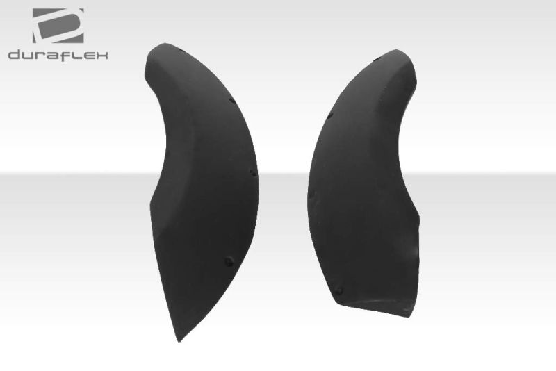 Duraflex GT300 Wide Body Rear Fenders - 2 Piece - Duraflex 104512
