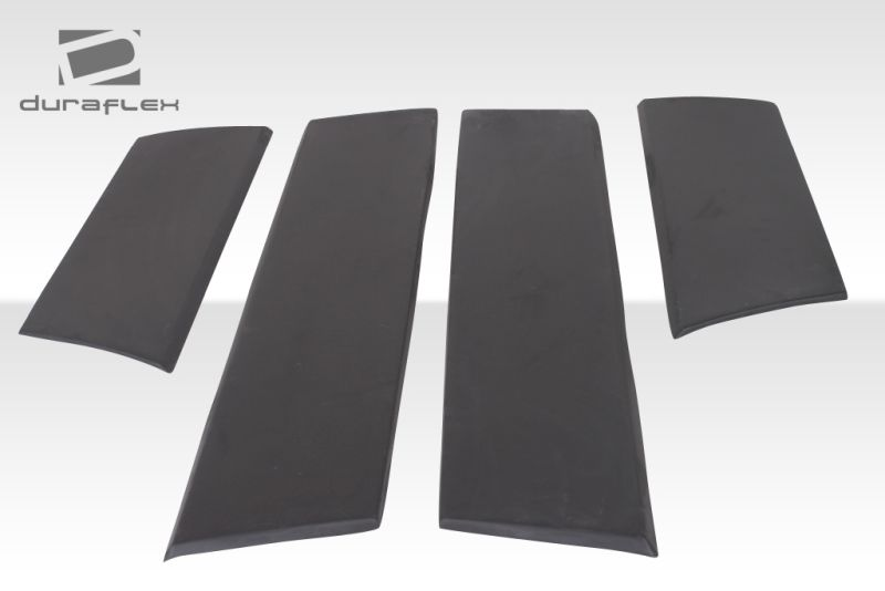 Duraflex Evo 2 Wide Body Door Caps - 4 Piece - Duraflex 105373