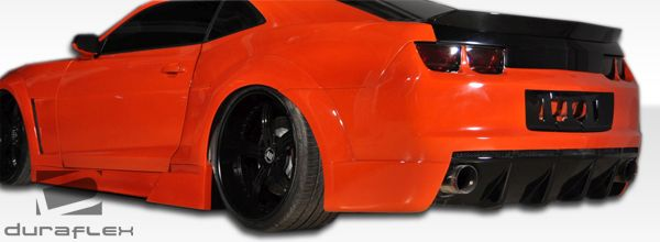 Duraflex Circuit Wide Body Side Skirts Rocker Panels - 2 Piece - Duraflex 105815