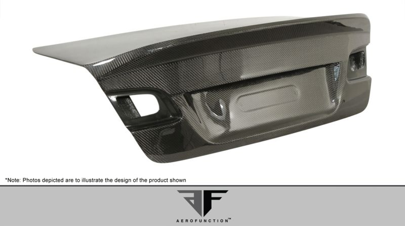 Aero Function AF-1 Trunk Lid ( CFP ) - 1 Piece - Aero Function 106810
