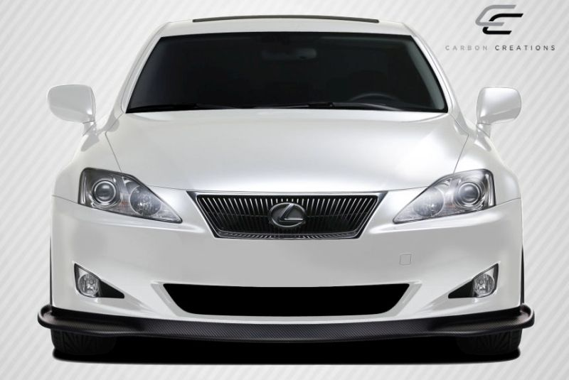 Carbon Creations VIP Front Lip Under Spoiler Air Dam - 1 Piece - Carbon Creations 106842